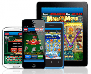 LadyLucks Phone Casino App par Android un iPhone
