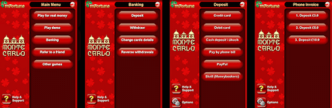 mFortune Mobile Casino Storting via de telefoon Bill