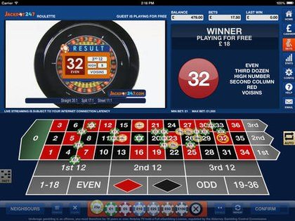 Play Along Live With Live Roulette or Roulette Express on Your Mobile Phone or iPhone.