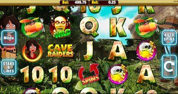 Winneroo Vegas - Cave Raiders Slots