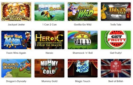 Play Online slots In Coinfalls