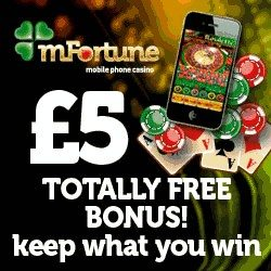 mFortune Phone Casino Pay Using Mobile Credit
