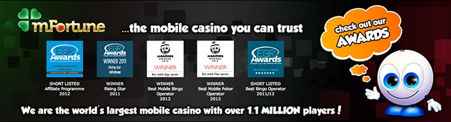 mFortune - Award Winning Mobile Casino