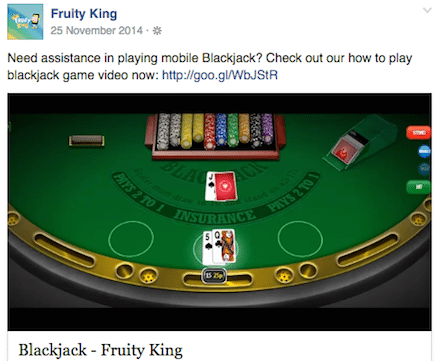 Fruity King Phone Deposit Mobile Casino Blackjack