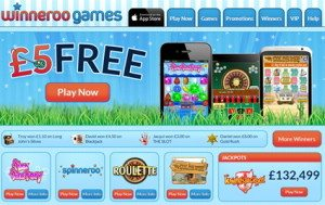 winneroo games mobile casino